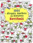 1001 dingen zoeken en kleuren Kerstmis