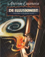 de illusionist Nasha Blaze in het wonderatelier