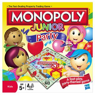 Monopoly Jnr Party