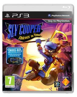 SLY COOPER THIEVES IN TIME PS3 2D