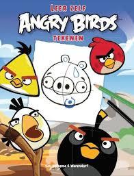 leer zelf angry birds tekenen