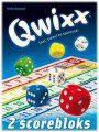 de Qwixx scoreblok