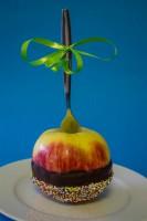 traktatie chocolade appel
