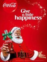 Geef een beetje vreugde met kerst en Coca-Cola