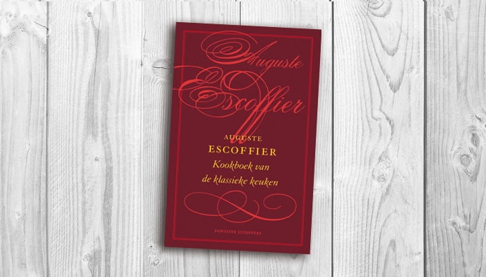 Recensie kookboek van de klassieke keuken auguste escoffier