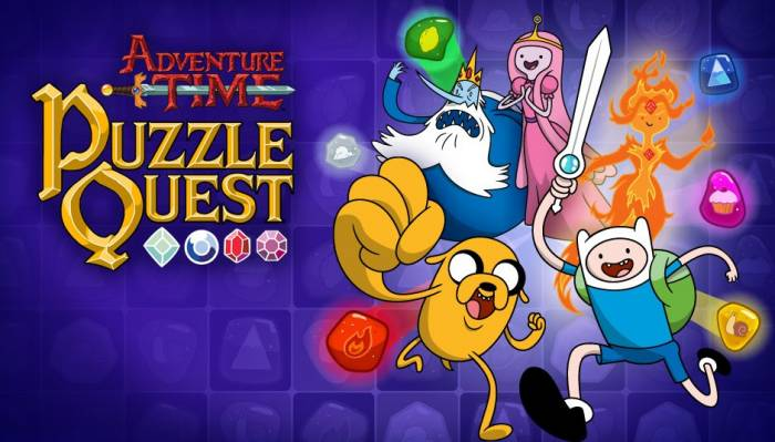 adventure time puzzle oh my glob