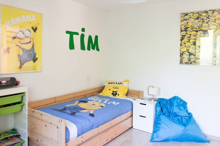 Slaapkamer make-over in de stijl van de Minions - CooleSuggesties