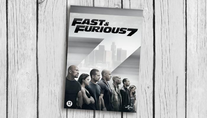 fast & Furious 7 packshot