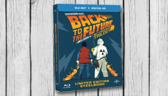 Win de Back to the future trilogie op blu-ray