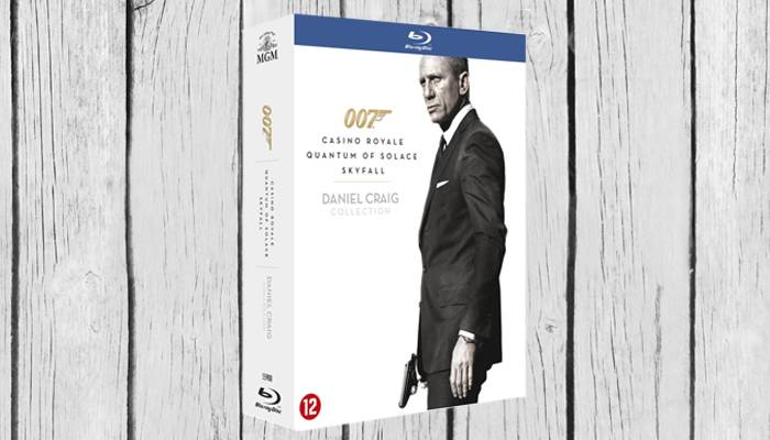 daniel craig james bond box brd