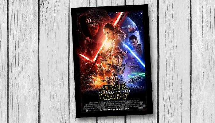 star wars the force awakens filmposter