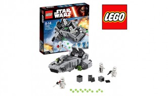 Recensie: LEGO Star Wars First Order Snowspeeder, 75100