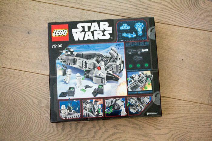 Recensie LEGO Star Wars Snowspeeder 8034