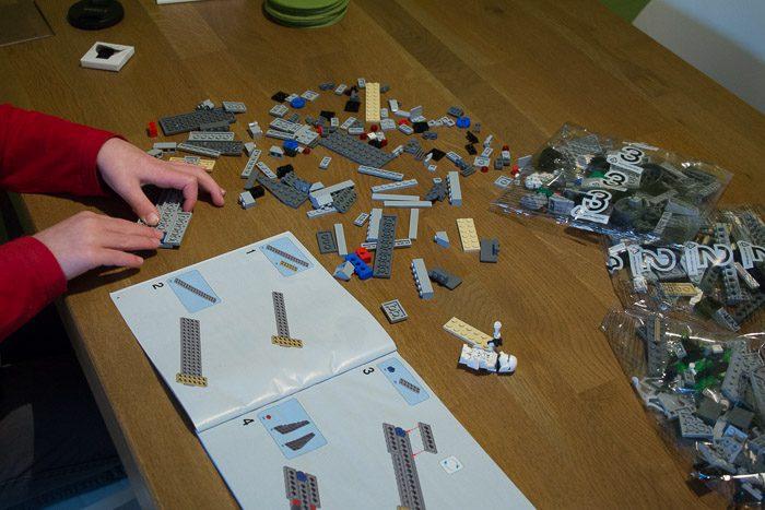 Recensie LEGO Star Wars Snowspeeder 8036