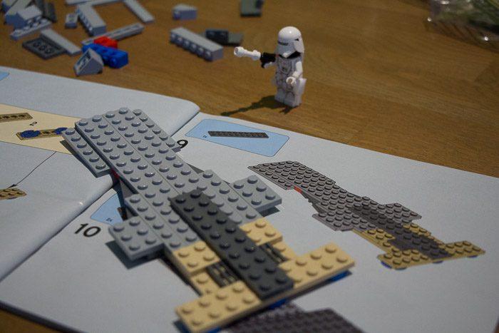 Recensie LEGO Star Wars Snowspeeder 8038