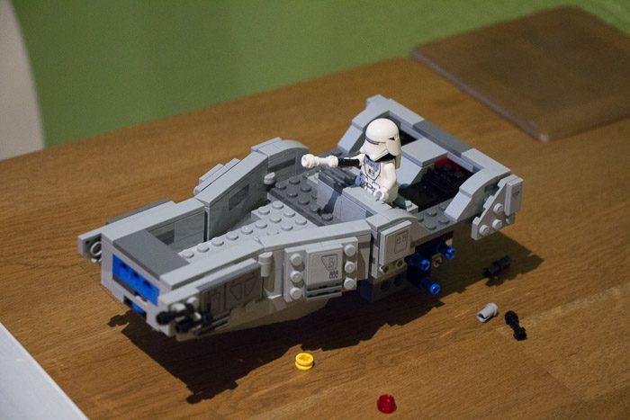 Recensie LEGO Star Wars Snowspeeder 8048