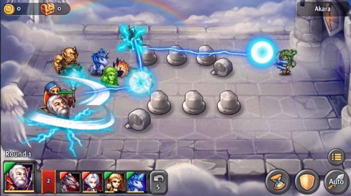 heroes tactics screenshot