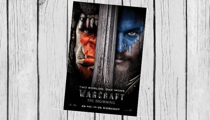 warcraft the beginning filmposter