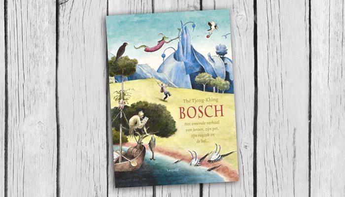Bosch het vreemde verhaal van Jeroen zijn pet zijn rugzak en de bal...