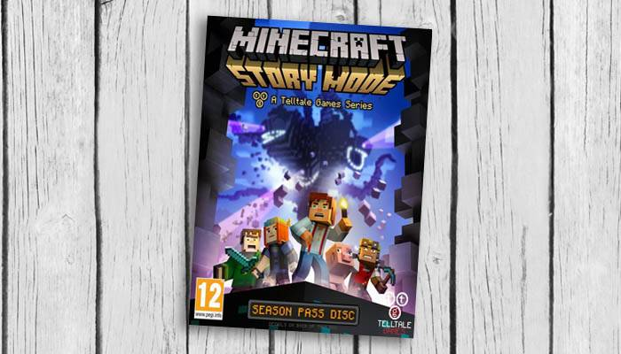 Minecraft.Story .Mode .cover game
