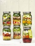 salad in a jar pottenverzameling