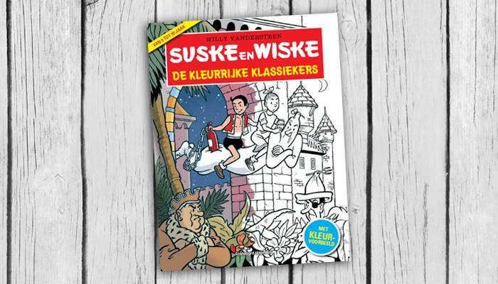 De Kleurrijke klassiekers van Suske en Wiske