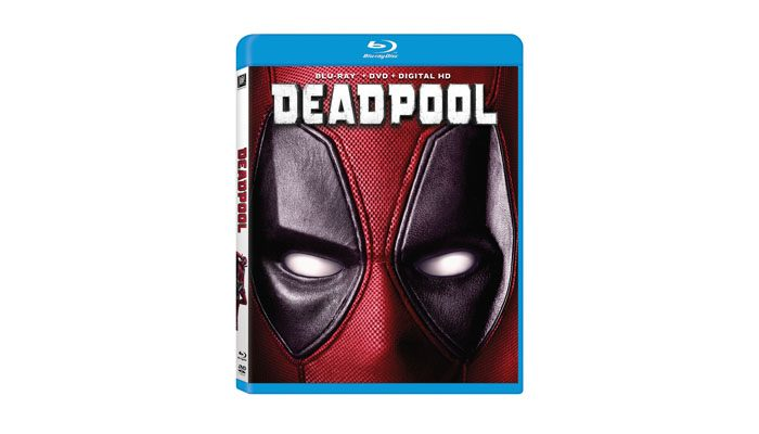 Deadpool BD spine