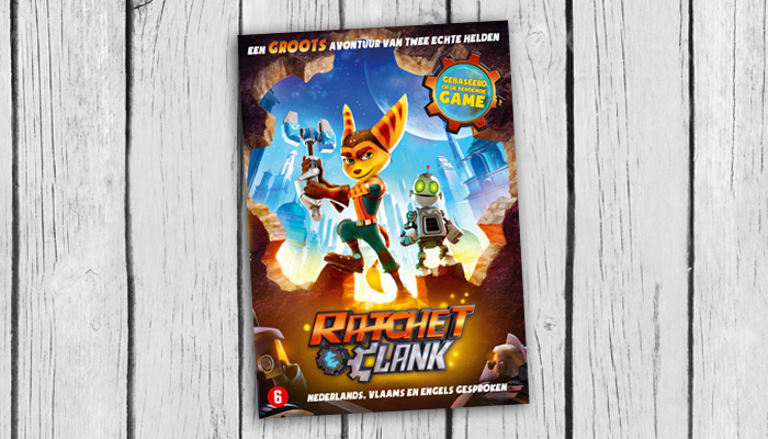 Ratchet and Clank DVD