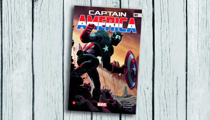 Captain America stripboek 0011