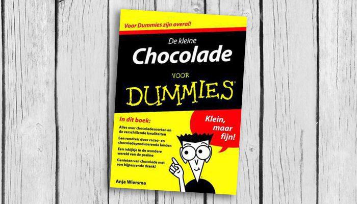 de kleine chocola voor dummies anja wiersma boek cover 9789045351216