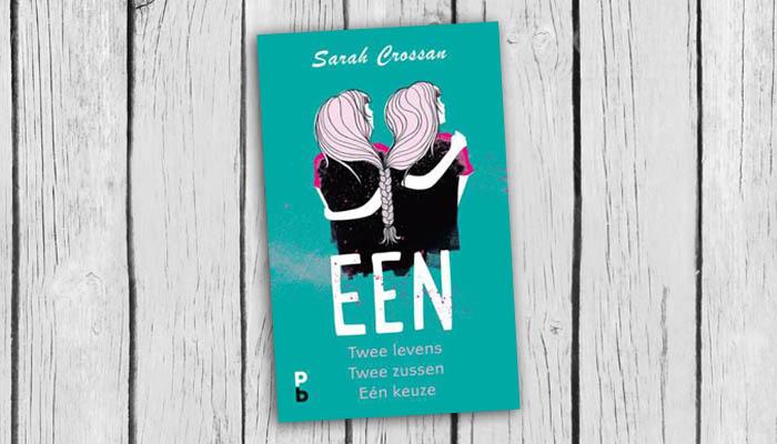 een sarah crossan boek cover 9789020608410