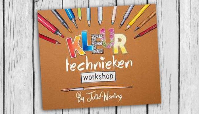 kleurtechnieken workshop julia woning boek cover 9789045320564