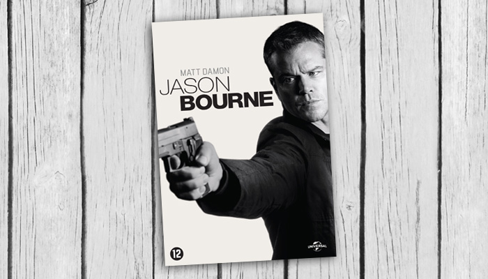 jason bourne dvd 2d