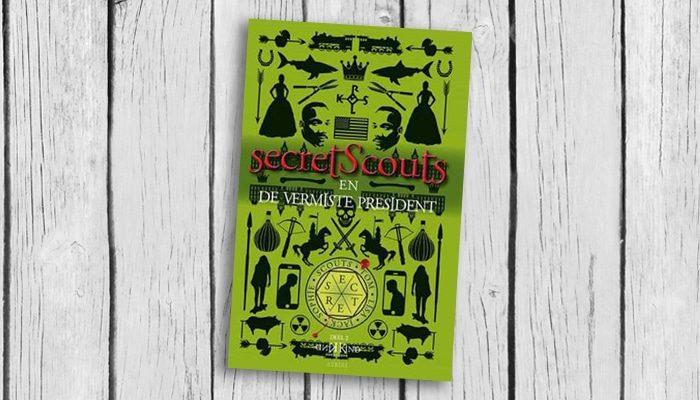 secret scouts en de vermiste president kind kind boek cover 9789402601459
