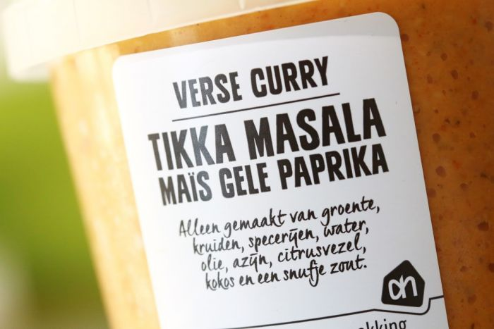 albert heijn curry tikka massala