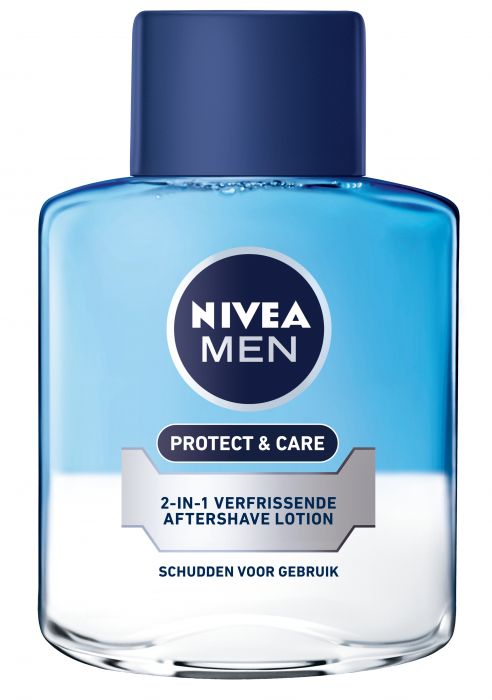 NIVEA MEN 2 in 1 Protect Care Aftershave Lotion