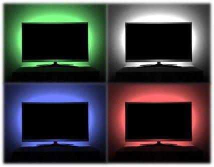 tv led strip set met 1 rgb strip voor tv s tot 32 inch 10 CL14602872331