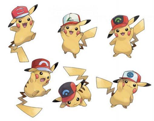 i choose you pikachu ash cap