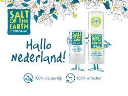 Review: Salt Of The Earth deodorant – 100% natuurlijk en 100% effectief