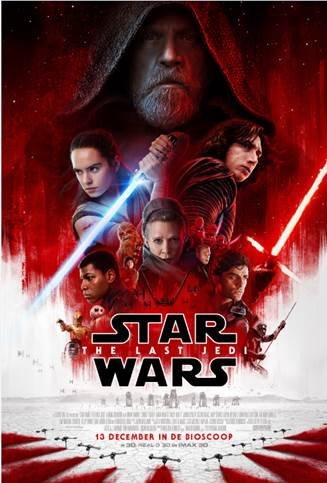 star wars the last jedi filmposter