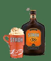 Recept: STROHcomel – warme chocomel met een flinke scheut rum