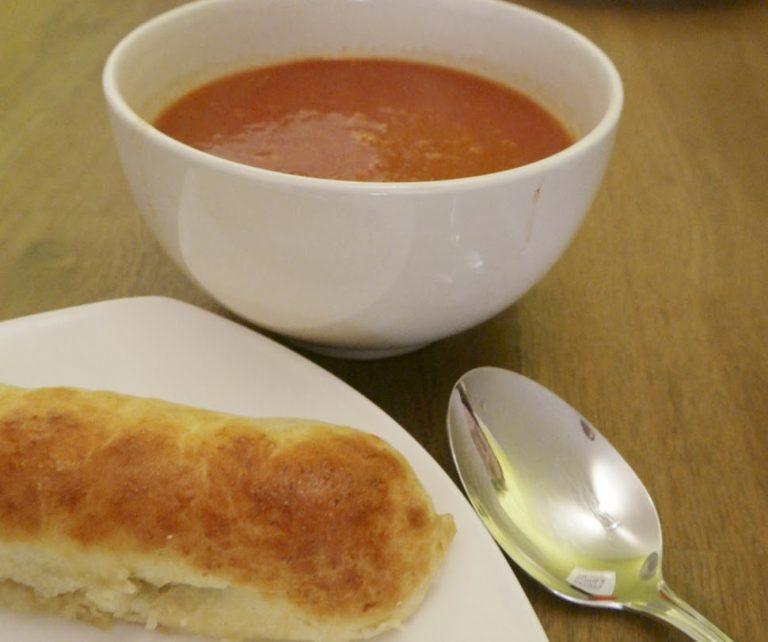 Verse tomatensoep in een handomdraai