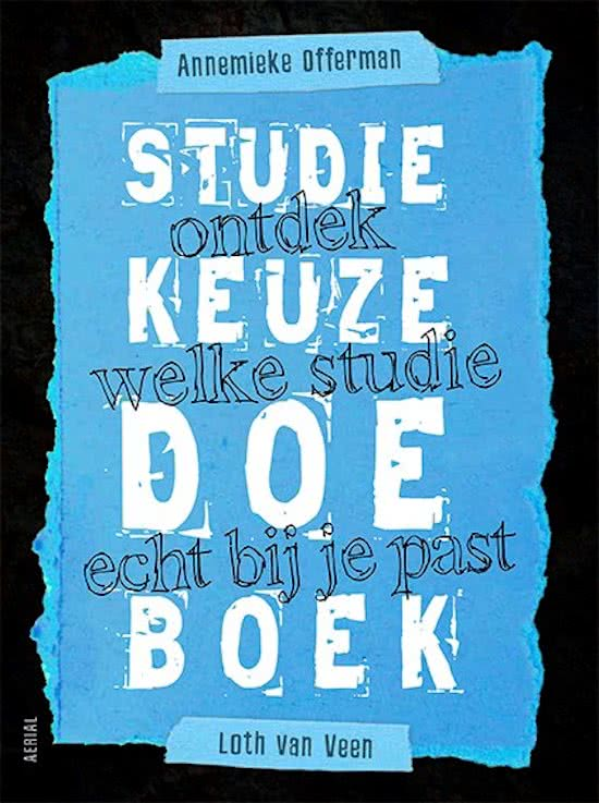 studiekeuze doeboek