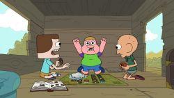 Dit zijn de belangrijkste figuren in de tekenfilmserie Clarence?