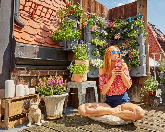 Nieuw van gardena: verticaal tuinieren u2013 coolesuggesties