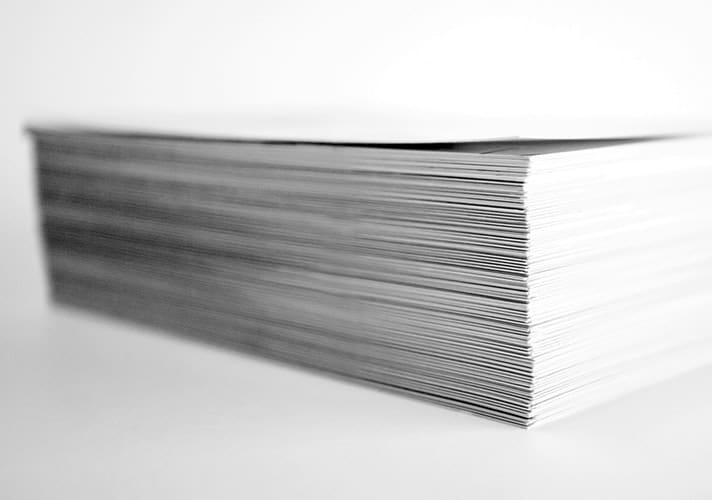 stapel papier print