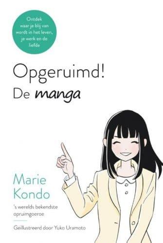Boek recensie opgeruimd de manga marie kondo for Boek opgeruimd