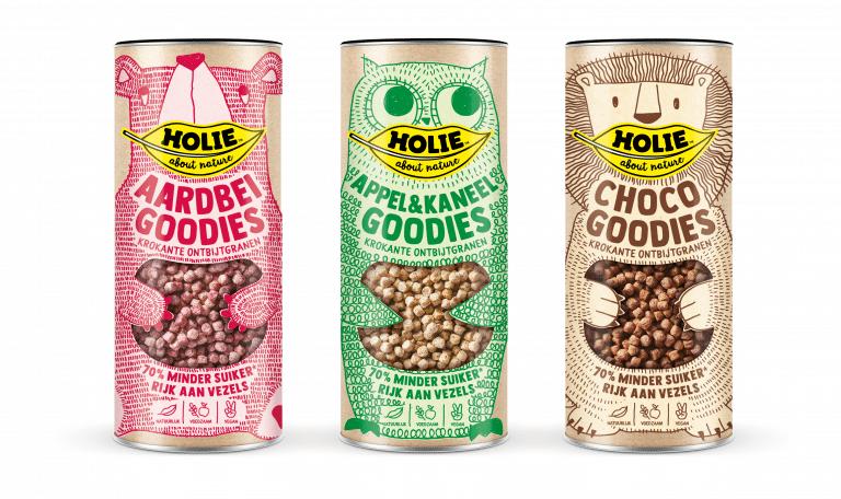 HOLIE  Cereals 3 smaakjes