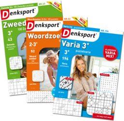 Prijsvraag: Win een Denksport puzzelboekjespakket! En: ontdek welk puzzelboekje bij jou past.
