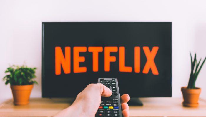 netflix logo televisie afstandsbediening